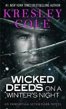 Wicked Deeds On A Winter's Night by Kresley Cole PB new