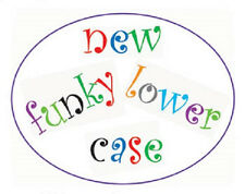 Cake Decorating Fondant Tool - FMM Tappit - Funky Alphabet Letters Lower Case