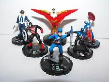 MARVEL HEROCLIX CAPTAIN AMERICA & FRIENDS LOT