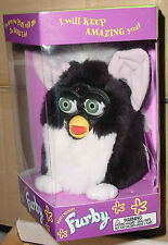 FURBY TUXEDO RETIRED FIRST GENERATION GREEN EYES #3