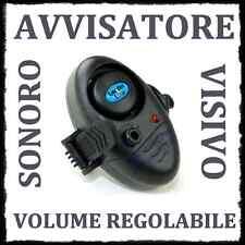 micro avvisatore abboccata pesca surfcasting segnalatore acustico volume regolab