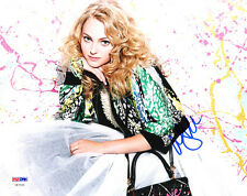 AnnaSophia Robb SIGNED 8x10 Photo Carrie Bradsaw Diaries PSA/DNA AUTOGRAPHED