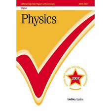 Physics Higher SQA Past Papers by Leckie & Leckie (Paperback, 2007)