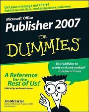 Microsoft Publisher 2007 For Dummies (For Dummies (ComputerTech))-ExLibrary