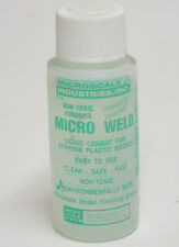 Micro Scale Micro Weld MI-6 Non Toxic Cement For Models / Hobby / Crafts