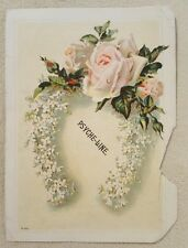 Vintage Antique Victorian Trade Card Psyche-Line lotion Portland, Oregon