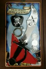 NEW Pirate Ahoy 7pc Playset Party Favors Giveaways Costume