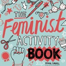 Feminist Activity Book by Gemma Correll (2016, Paperback)