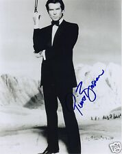 PIERCE BROSNAN - JAMES BOND AUTOGRAPH SIGNED PP PHOTO POSTER