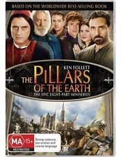The Pillars of the Earth (Ken Follett) (8 Part Mini Series) NEW R4 DVD