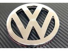 New OEM VW VOLKSWAGEN 105 mm BADGE Chrome Emblem-size 105mm-GTI GOLF polo