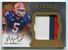 2011 Exquisite Collection 135 Mikel Leshoure Rookie Patch Auto 94/135