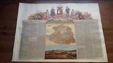 1875 MAPA Provincia de Caceres Cromolitografia Boronat y Satorre (España Map)