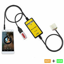 Car USB Mp3 Player Interface AUX In Adapter For Accord Civic Odyssey S2000 City