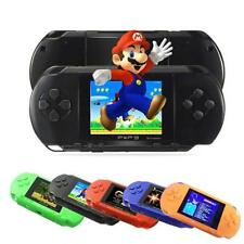 PXP 3 Game Console Handheld 16 Bit Retro Video Game 150 Games For Kids Gift Blue