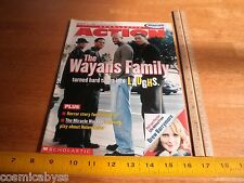 The Wayans Family Damon Drew Barrymore Scholastic Action Schools only Mag 2000