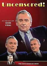 The David Susskind Show: Uncensored - An Interview with Gore Vidal DVD New.