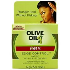 ORS Organic Root Stimulator Olive Oil Edge Control Hair Gel 2.25 Oz