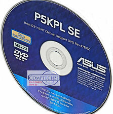 ASUS P5KPL SE  MOTHERBOARD AUTO INSTALL DRIVERS M2273