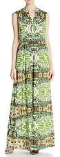 NWT Alice + Olivia Abstract Garden Maxi Dress 6 $550