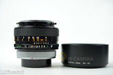 Canon FD 55mm F/1.2 S.S.C Lens /w BT-58 Hood, 58mm Protect