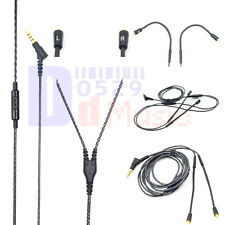 Audio Cable with Mic For SHURE SE535 SE425 SE315 SE215 SE846 UE900/S earbuds