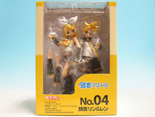 Moekore Plus 04 Character Vocal Series Rin Kagamine & Len PVC Figure Volks