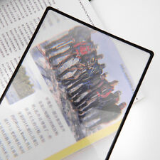 3X PVC Magnifier Sheet 180X120mm Book Page Magnifying Reading Glass Lens BY