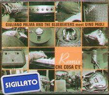 """GIULIANO PALMA AND THE BLUEBEATERS """" CHE COSA C'E' REMIX """" CDs SINGOLO SIGILLATO"""