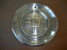 "Lincoln Continental Hubcap Rim Wheel Cover Hub Cap 1960 60 14"" OEM USED AH-1"