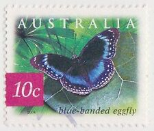 (DC520) 2004 AU 10c Rain Forrest Butterfly (V)