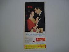 advertising Pubblicità 1963 DENTIFRICIO COLGATE