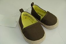 H&M Baby Boys Girls Shoes Size 0 NEW Brown NIB