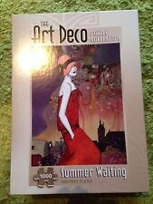 The Art Deco Puzzle Collection - Summer Waiting - 1000 Piece Jigsaw
