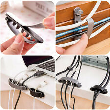 10pc Cable Cord Wire Line Organizer Clips Ties Arrangement Fixer Fastener Holder