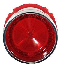1965 65 Chevy Belair Tail Light Lens with Chrome Trim
