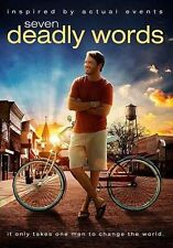 Seven Deadly Words (DVD, 2014)New - Christian Movie