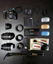 Nikon D5100 KIT with 2 Lenses and a Ton of Accessories!