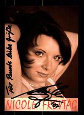 Nicole Freitag Autogrammkarte Original Signiert ## BC 74876