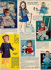 1968 ADVERT Annette and her Poodle Baby Bevi Teddy Bear Doll Dolly Heaven