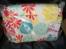 Ju-Ju-Be Better Be Messenger Diaper Bag Flower Power NEW LAST ONE