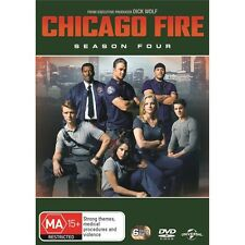 CHICAGO FIRE-Season 4-Region 4-New AND Sealed-6 DVD Set-TV Series
