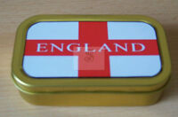 England  1 & 2oz Tobacco/Storage Tins