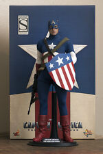 Hot Toys Captain America Star Spangled Man Sixth Scale Figure