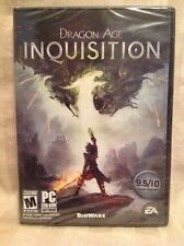 Brand New Factory Sealed PC Video Game - Dragon Age: Inquisition By BioWare! M54