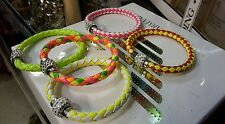 New Wholesale  ladies girls 5 fashion Leather Bracelet job lot uk