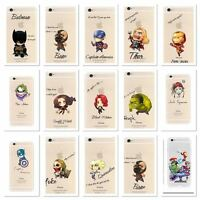 MARVELS  AVENGER Transparent Clear TPU Soft case For Apple Iphone  5/5S & 5SE
