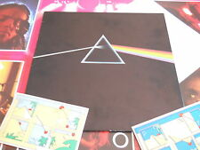 LP UK PROG PINK FLOYD - THE DARK SIDE OF THE MOON - 2 poster e cartoline