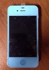 *FOR PARTS* Apple iPhone 4s  - A1387  Blue (Unknown) GSM Smartphone **READ**