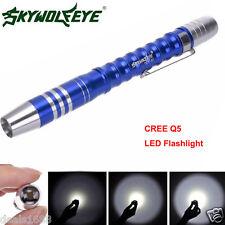 2000LM Tactical Lampe torche CRÉE Q5 LED Puissant Lampe de poche AAA lampe